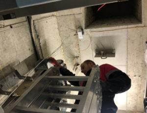 монтаж видеонаблюдения в лифте